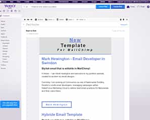 Editable MailChimp Email Template for Yahoo Chrome Windows 7